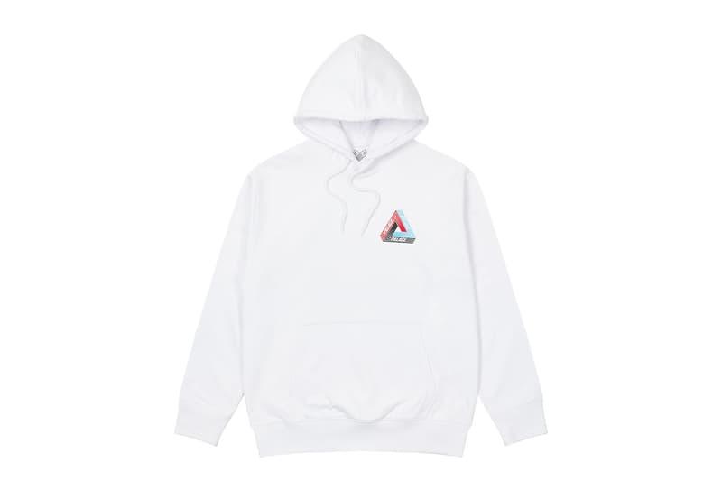 palace skateboards logo hoodies holiday drop 6 white