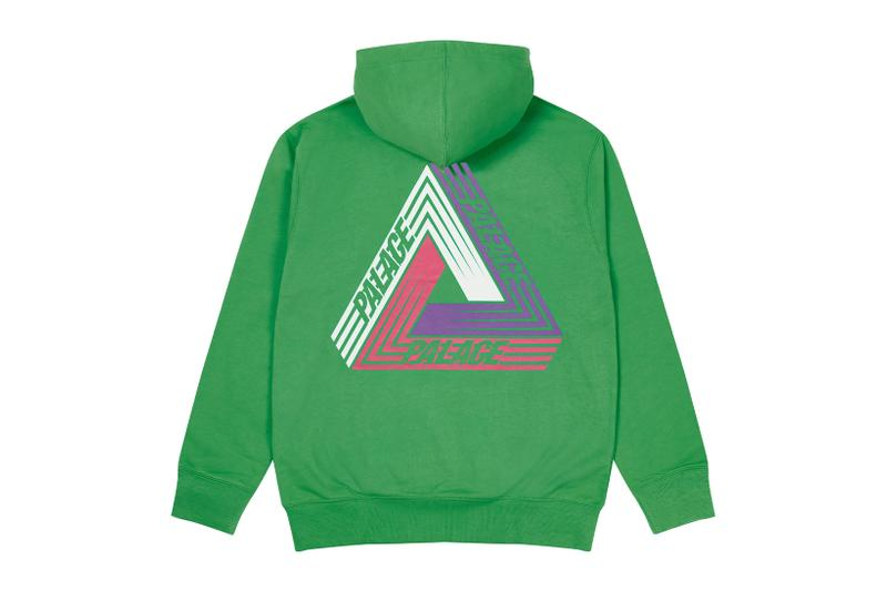 palace skateboards logo hoodies holiday drop 6 green