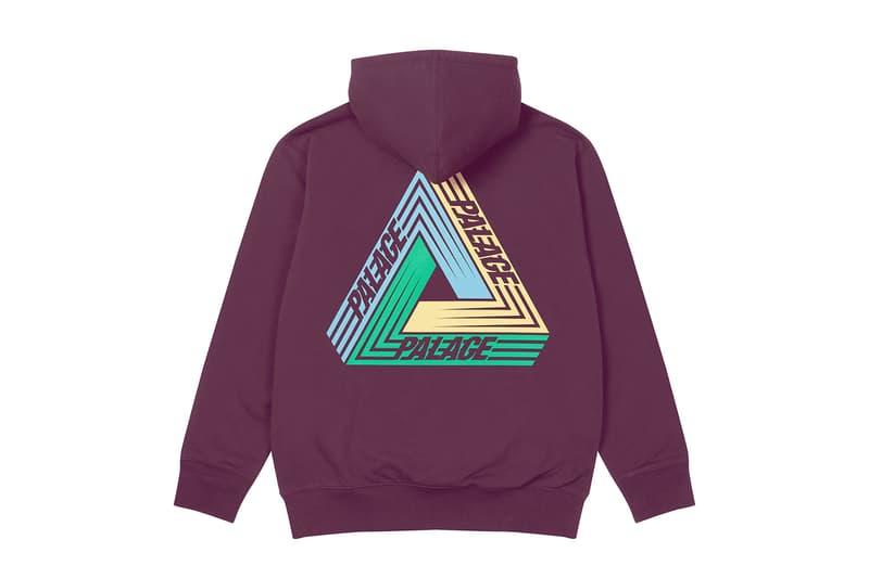 palace skateboards logo hoodies holiday drop 6 purple