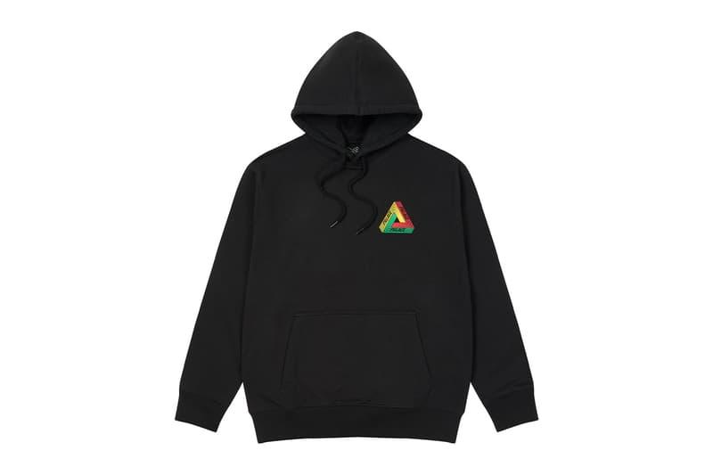 palace skateboards logo hoodies holiday drop 6 black
