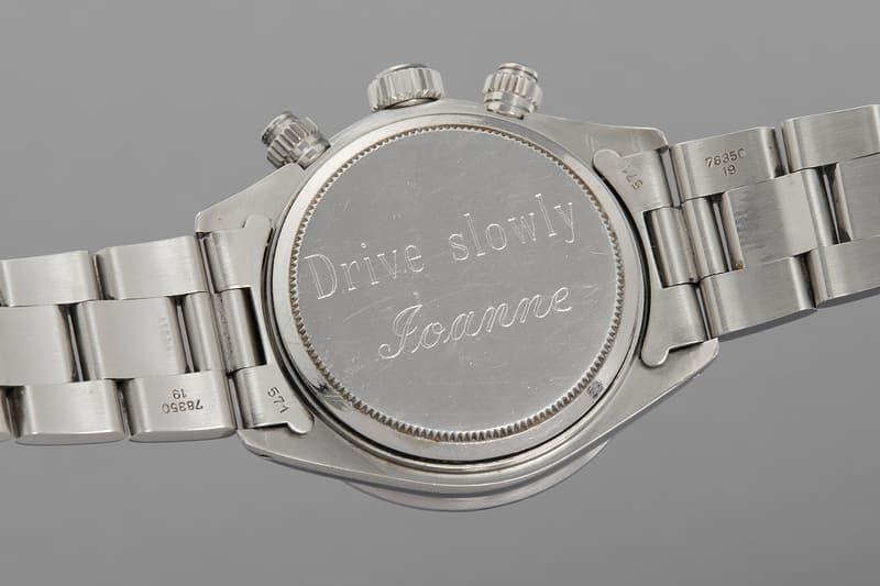 Paul Newman Rolex Daytona 6263 Big Red Watch Wife Joanne Woodward