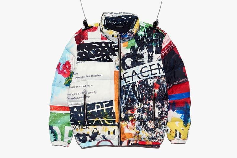 g-dragon peaceminusone pmo puffer denim jackets sweatshirts overalls accessories release