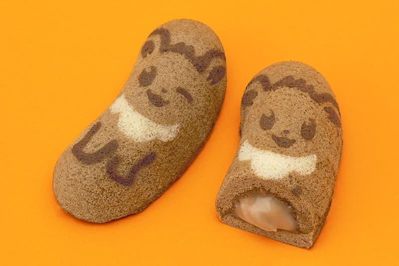 pokemon tokyo banana eevee sponge cake collaboration ice cream dessert japan