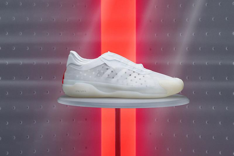 Prada x adidas Sneaker Collaboration Luna Rossa 21 White