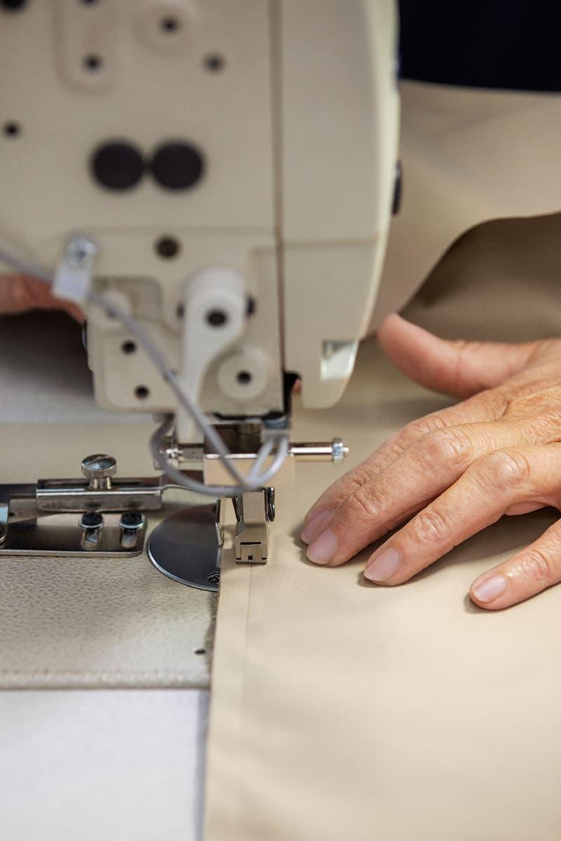 reburberry leftover fabrics donation fashion students sustainability british fashion council bfc education