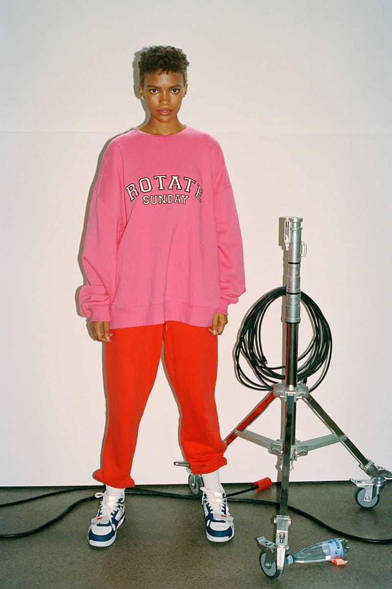 rotate sunday birger christensen loungewear collection hoodies tracksuits