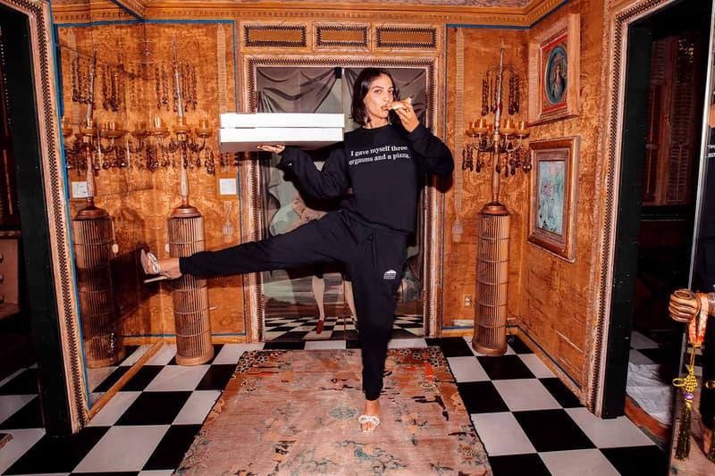 Sarah Bahbah Lazy Cake Loungewear Pizza Sweatsuit