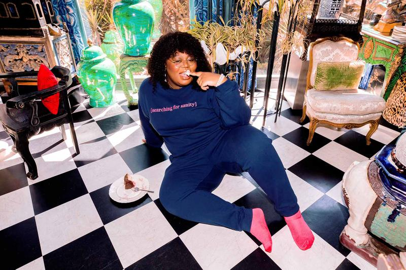 Sarah Bahbah Lazy Cake Loungewear Sanity Sweatsuit