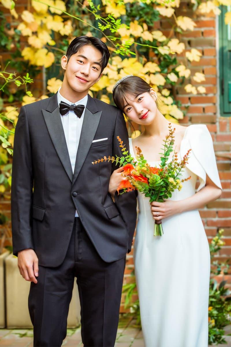 start-up kdrama suzy bae nam joohyuk wedding dress suit safiyaa dior designer seo dalmi dosan dodal couple