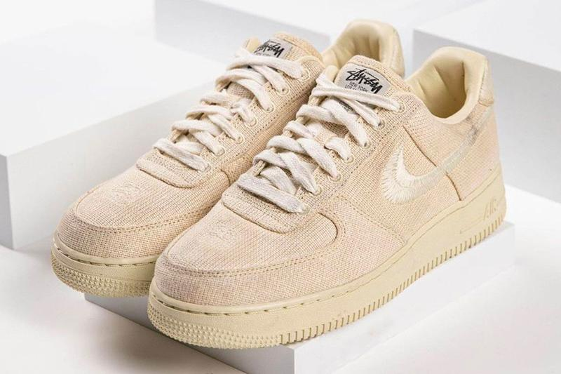 Stussy x Nike Air Force 1 Low Beige Fossil Stone