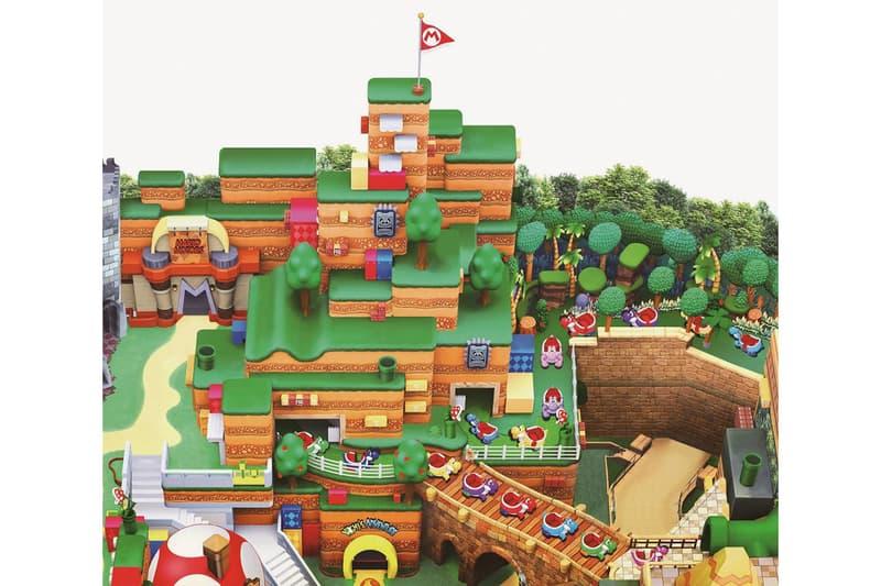 super nintendo world osaka japan theme park opening map official look