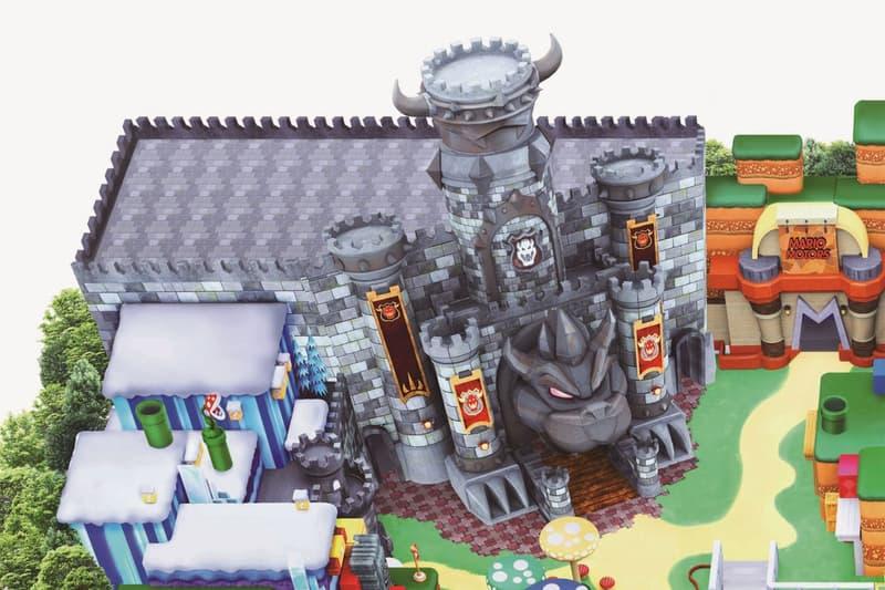 super nintendo world osaka japan theme park opening map official look koopa bowser castle