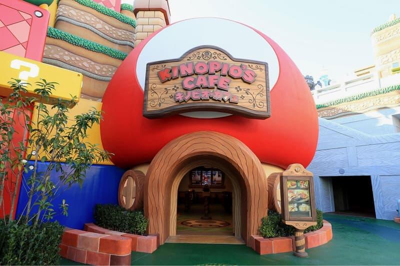 super nintendo world osaka japan theme park opening toad's cafe