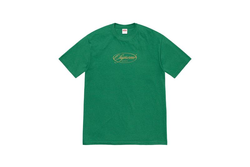 supreme new york graphic winter tees t shirts collection green red mariah carey