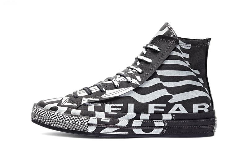 Telfar x Converse Chuck 70 Collaboration White Black