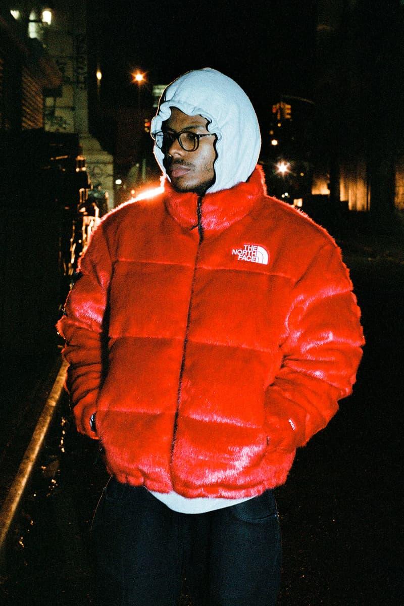 The North Face X Supreme Faux Fur