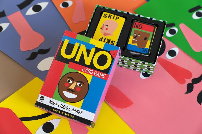 Nina Chanel Abney UNO Artiste Series Deck Cards