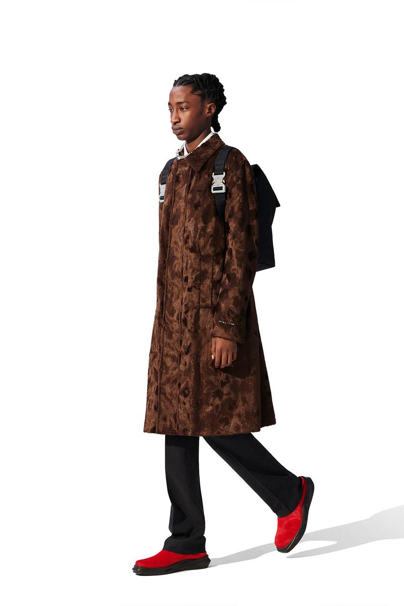 1017 alyx 9sm fall winter co-ed collection dresses coats suits matthew wiliams