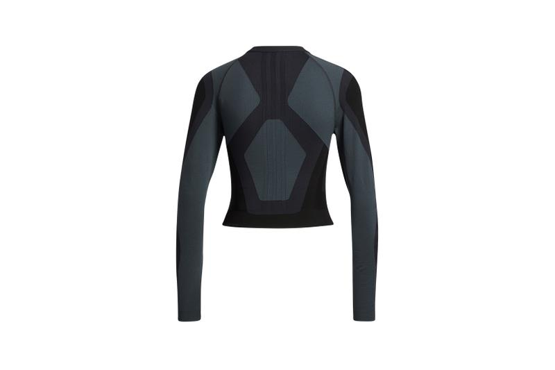 adidas pharrell williams pw primeknit fine collaboration activewear black long sleeve top