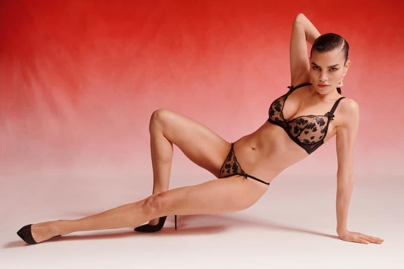 Agent Provocateur Valentine's Day 2021 Lingerie Collection Campaign Bra Underwear Pink