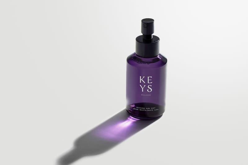 alicia keys soulcare skincare full collection reviving aura facial mist
