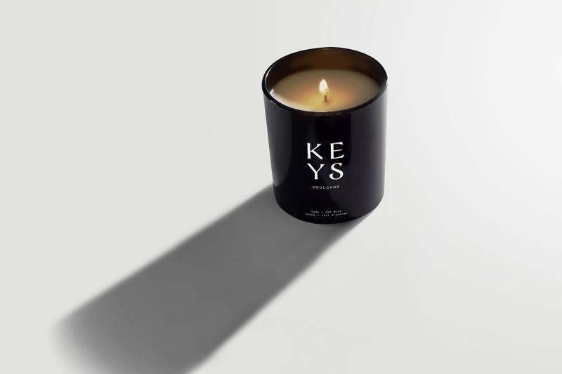 alicia keys soulcare skincare full collection sage oat milk candle home scents
