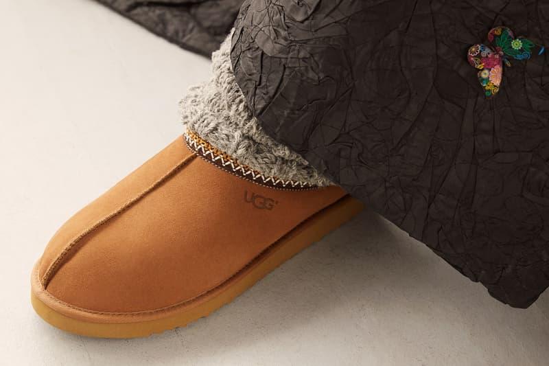 andre leon talley vogue fashion news director ugg spring summer feel campaign tasman slipper shoes footwear beige brown