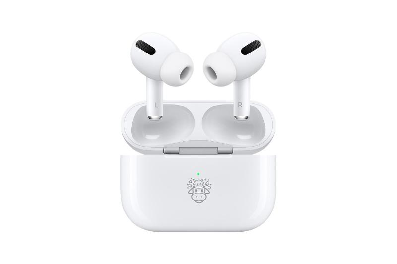 Apple AirPods Pro Lunar Chinese New Year Ox Emoji