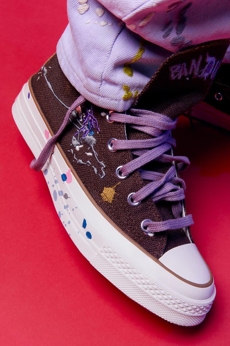 Bandulu x Converse Chuck 70 Collaboration Paint Drip