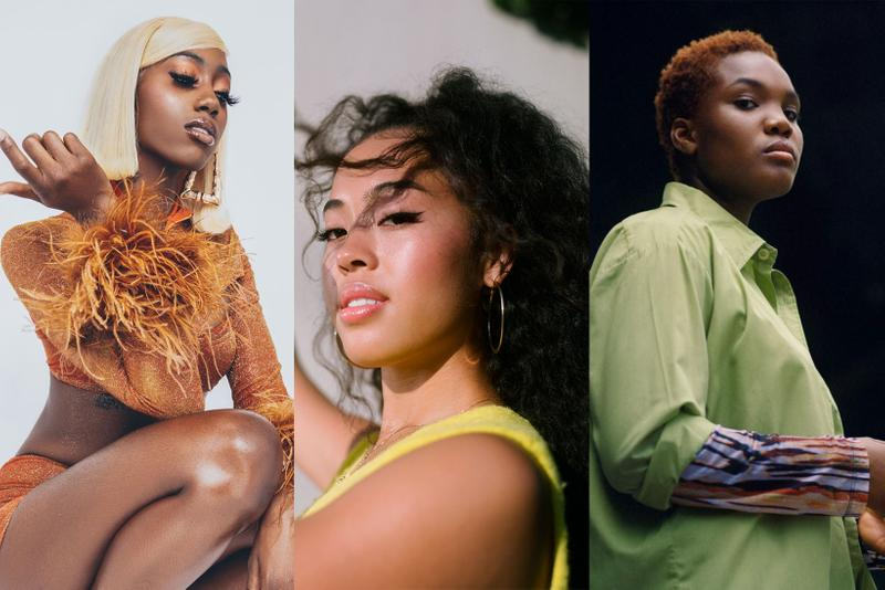 best music artists 2021 up and coming emerging hip hop rap R&B female women singers joyce wrice flo milli arlo parks