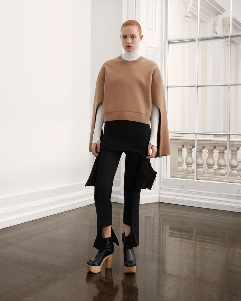burberry fall winter fw21 pre-collection riccardo tisci crewneck top pants trousers