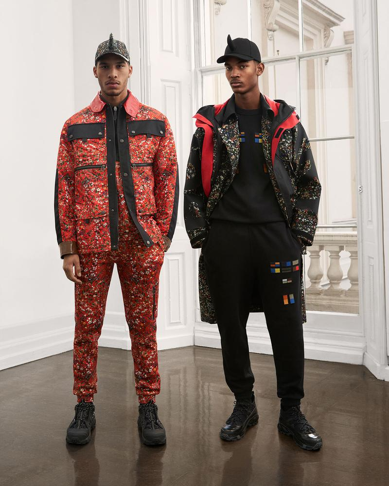burberry fall winter fw21 pre-collection riccardo tisci floral print jacket pants trousers jumper