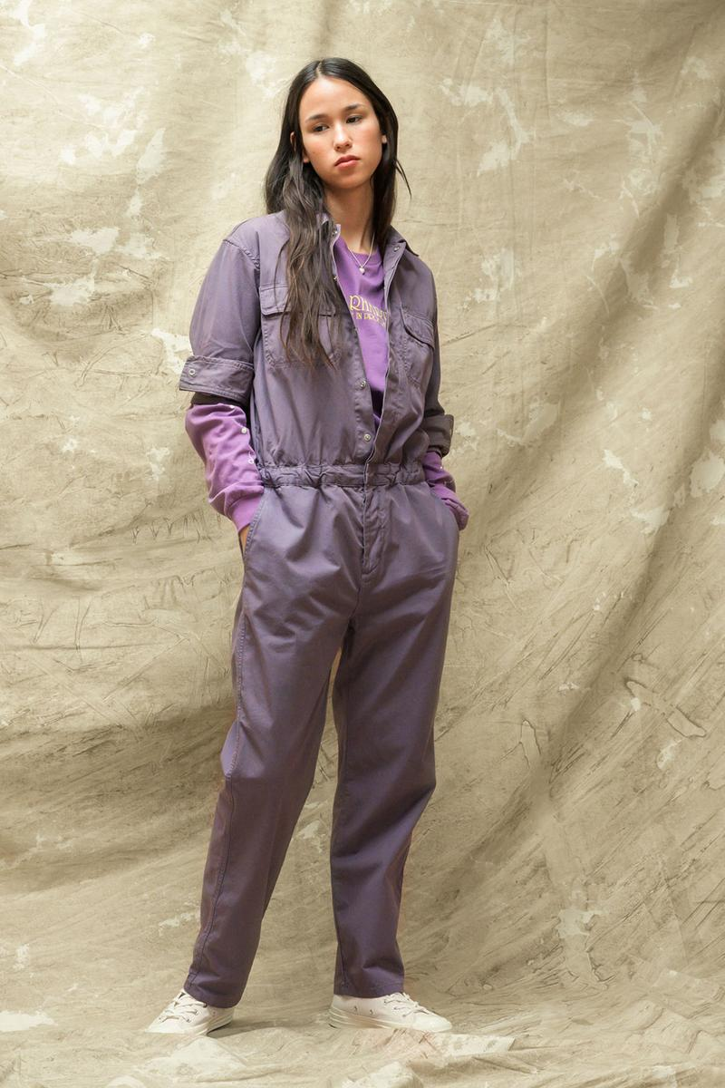 carhartt wip spring summer 2021 ss21 collection lookbook purple jumpsuit boilersuit
