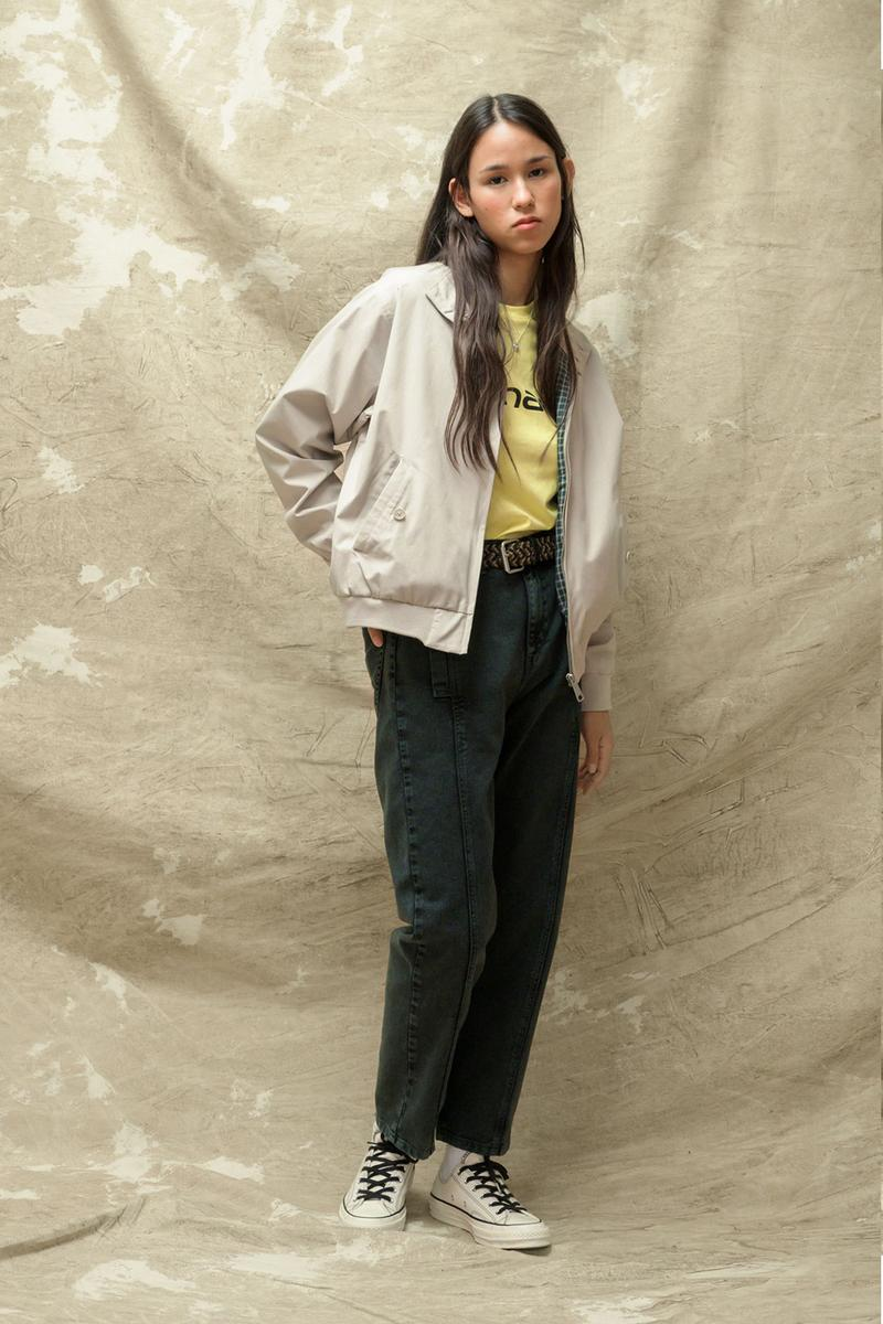 carhartt wip spring summer 2021 ss21 collection lookbook jacket jeans