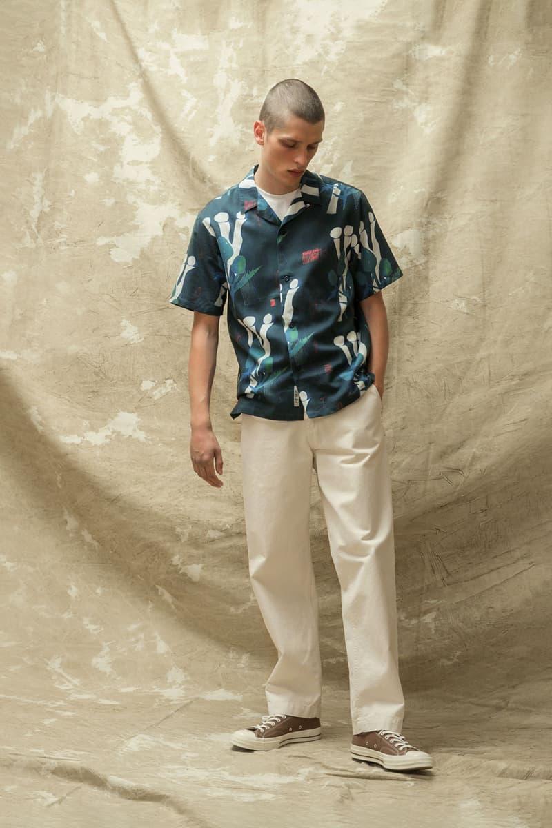 carhartt wip spring summer 2021 ss21 collection lookbook graphic pattern short sleeve shirt