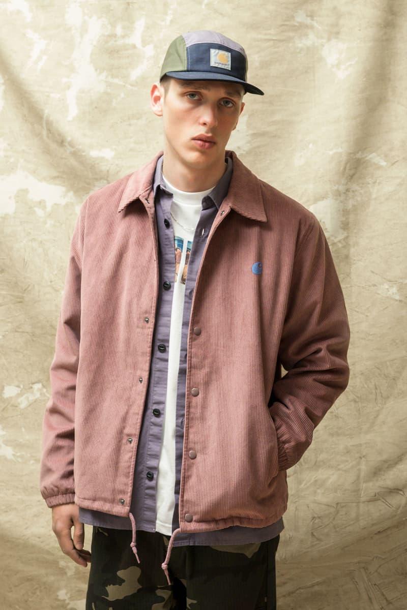 carhartt wip spring summer 2021 ss21 collection lookbook corduroy jacket cap