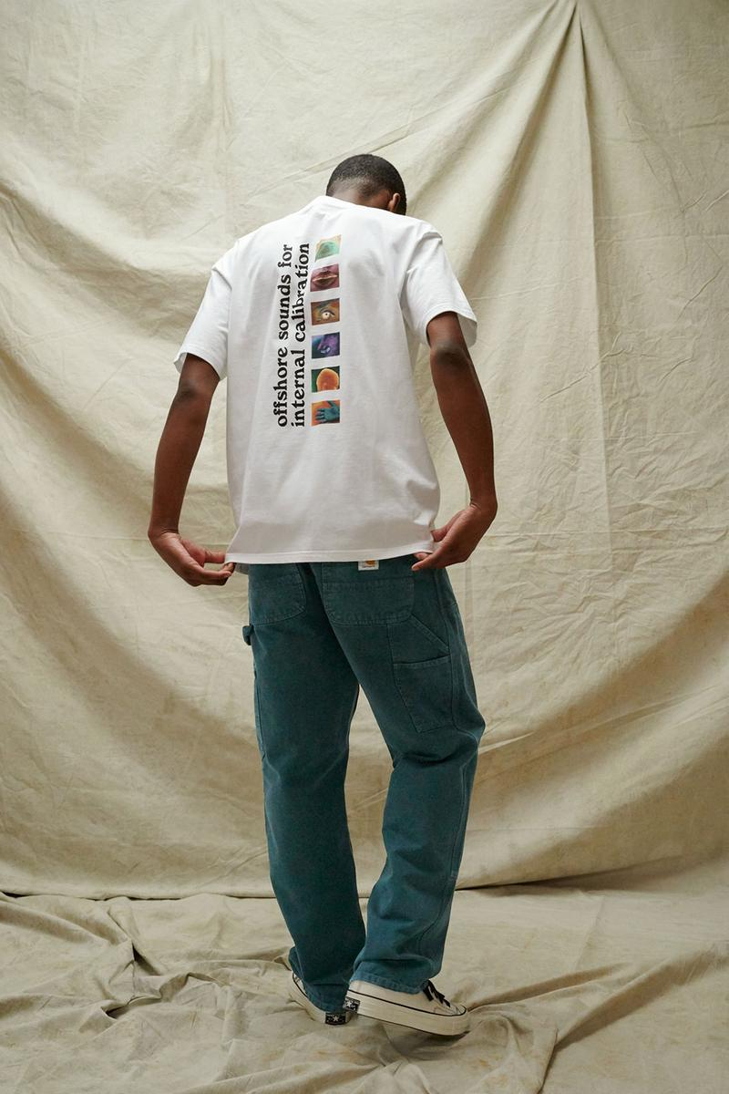 carhartt wip spring summer 2021 ss21 collection lookbook graphic t-shirt pants