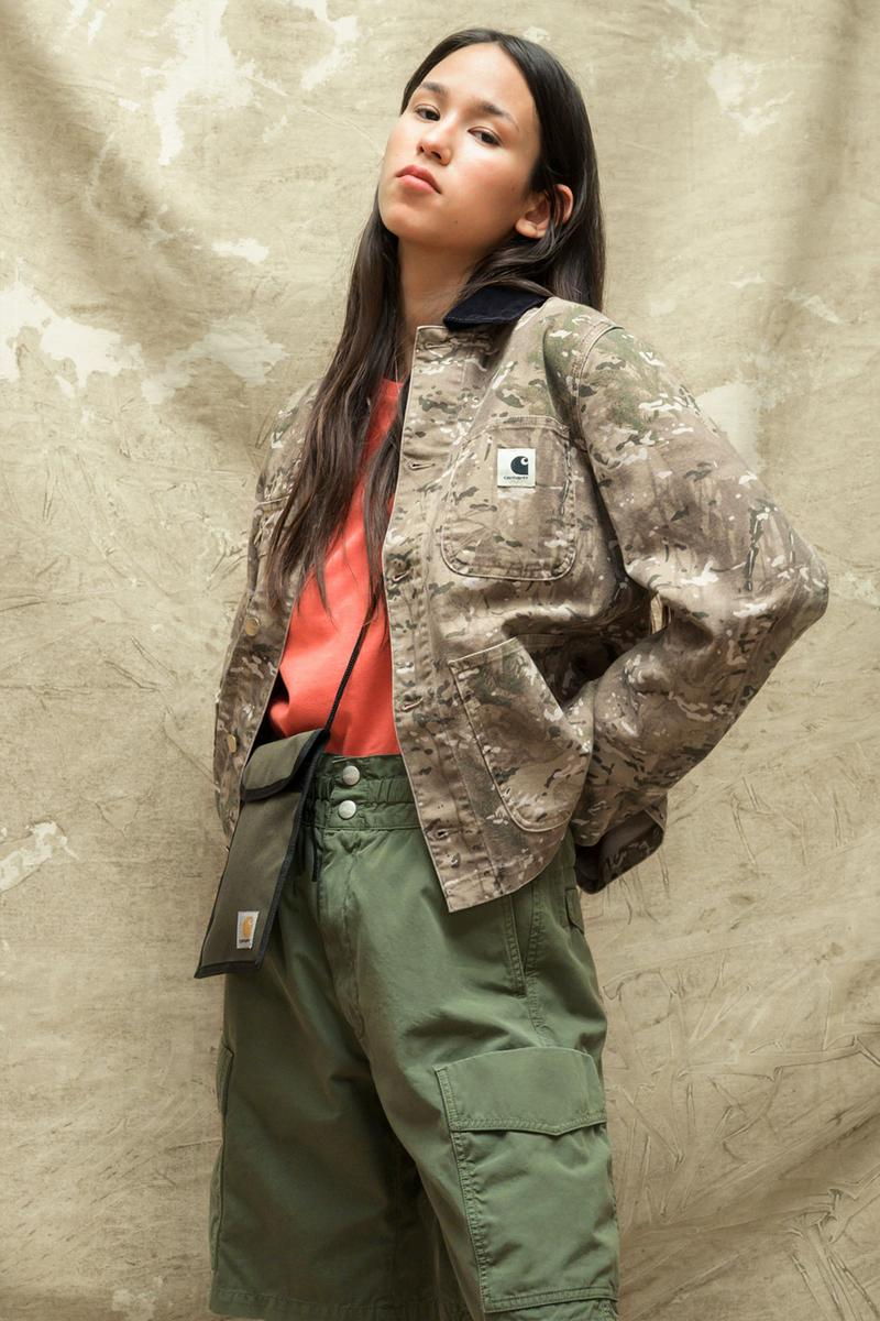 carhartt wip spring summer 2021 ss21 collection lookbook military jacket cargo pants