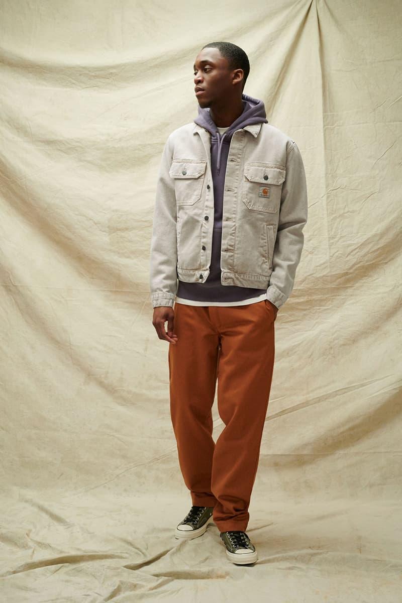 carhartt wip spring summer 2021 ss21 collection lookbook coach denim jacket hoodie