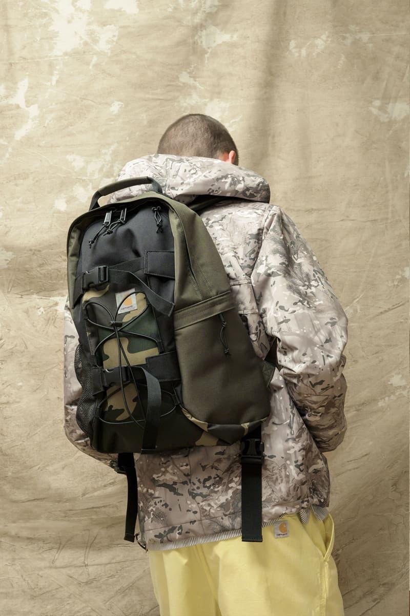 carhartt wip spring summer 2021 ss21 collection lookbook backpack military hoodie jacket
