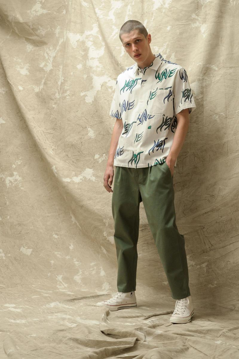 carhartt wip spring summer 2021 ss21 collection lookbook graphic shirt trousers