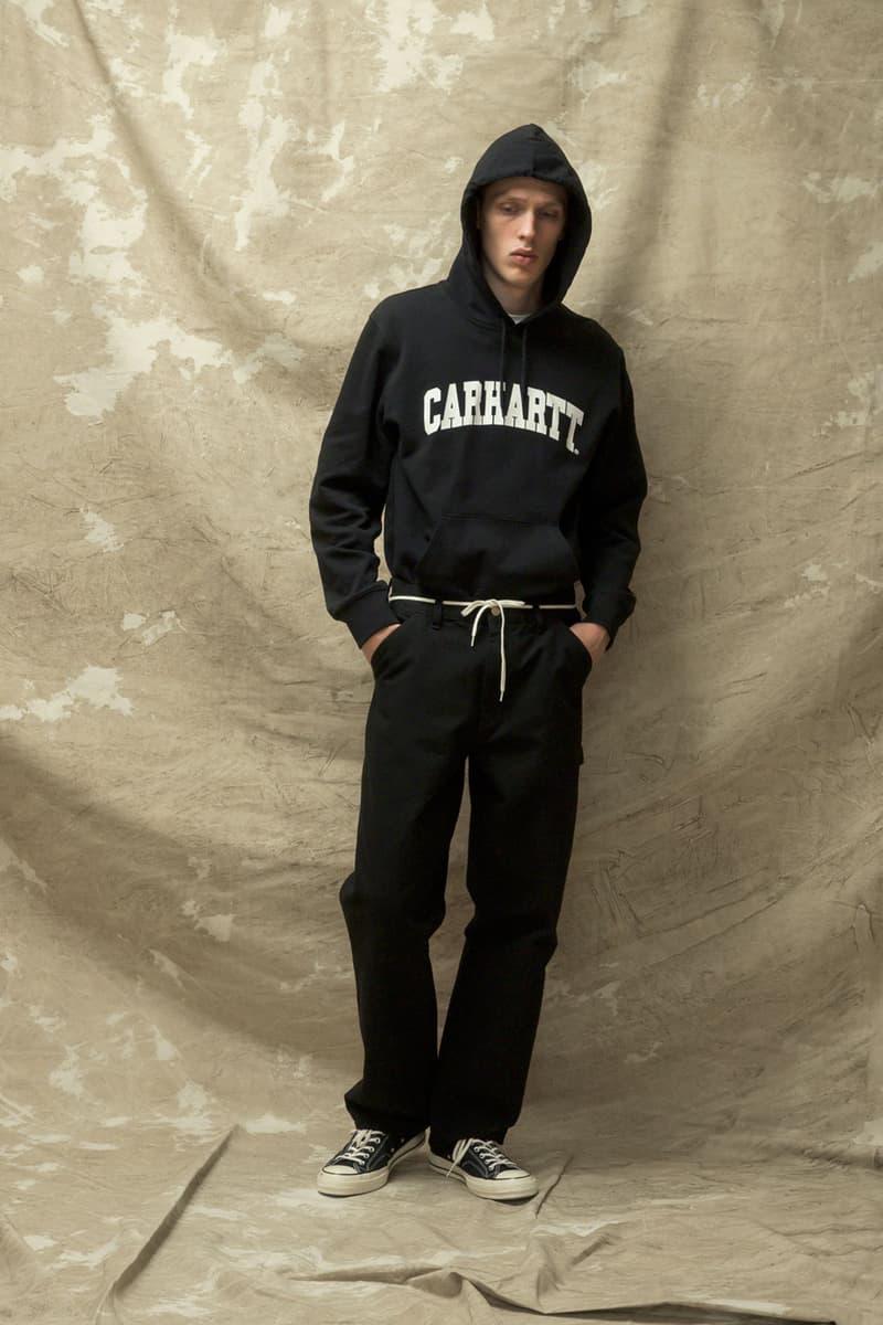 carhartt wip spring summer 2021 ss21 collection lookbook logo hoodie