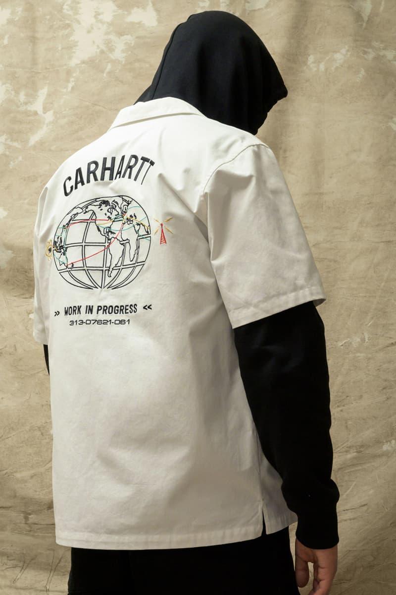 carhartt wip spring summer 2021 ss21 collection lookbook graphic short sleeve shirt hoodie
