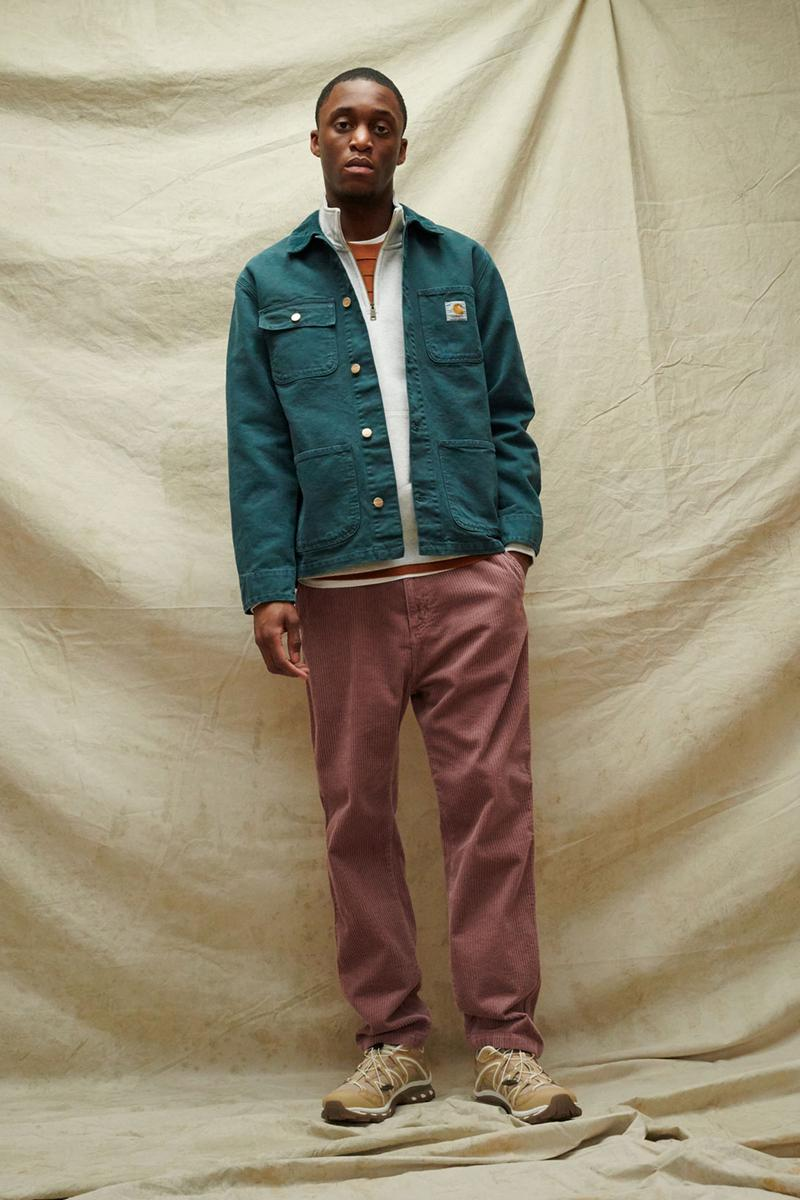 carhartt wip spring summer 2021 ss21 collection lookbook denim jacket corduroy pants
