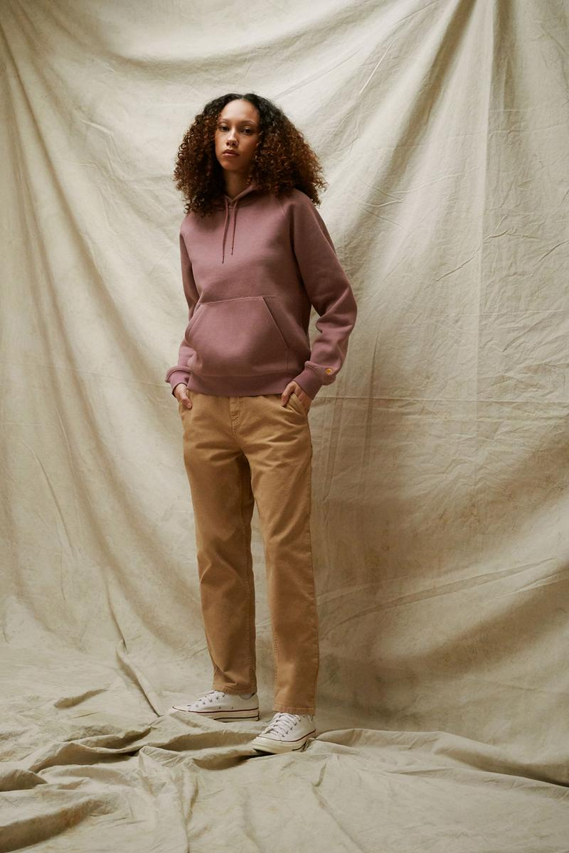 carhartt wip spring summer 2021 ss21 collection lookbook hoodie trousers
