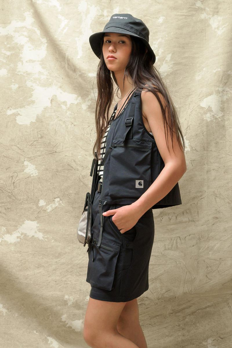 carhartt wip spring summer 2021 ss21 collection lookbook hat utility vest shorts