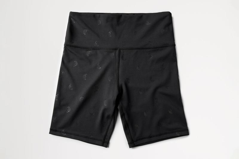 chipotle activewear fitness sustainable sports bike shorts