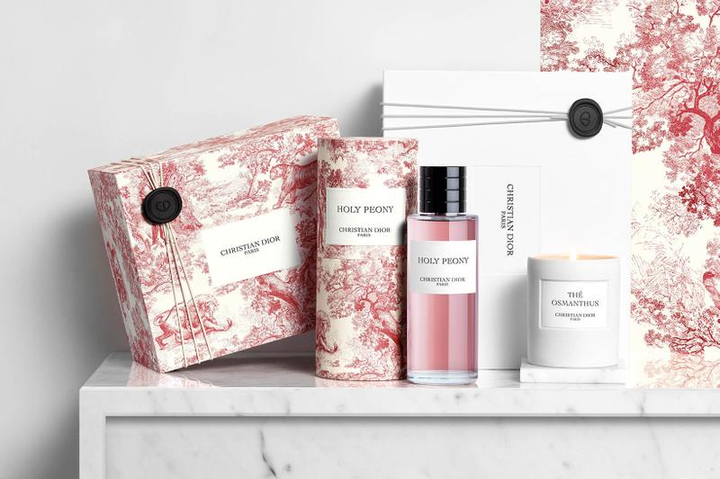 christian dior beauty perfumes fragrances toile de jouy limited edition holy peony red pink the osmanthus candle