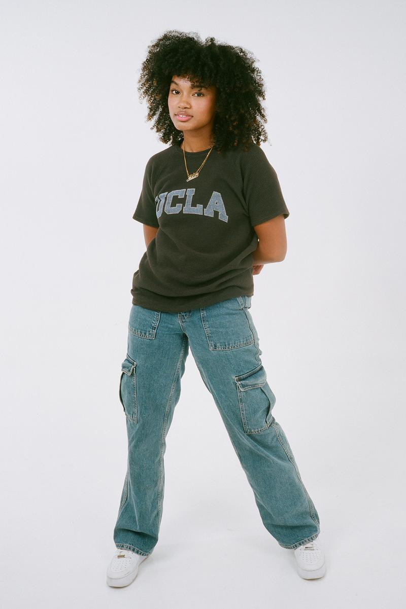 CMMND x UCLA Collaboration Merchandise Collection T-Shirt Blue