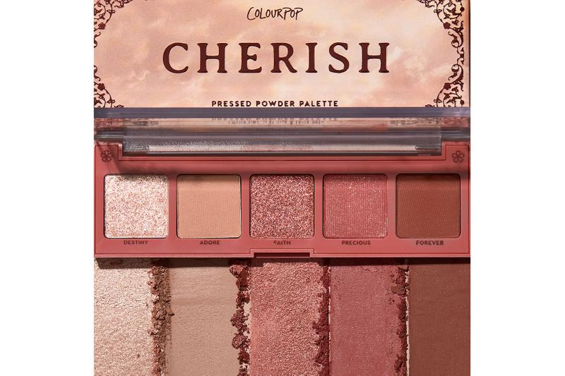 colourpop love struck eyeshadow collection makeup